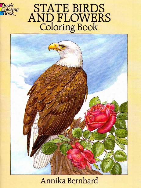 State Birds And Flowers Coloring Book State Birds And Flowers Coloring Book