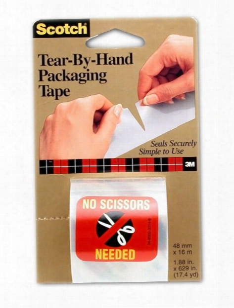 Tear-by-hand Packaging Tape 2 In.