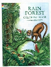 Rain Forest Coloring Book Rain Forest Coloring Book