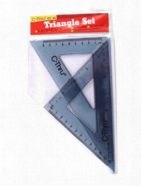 Triangle Set Set Of 2