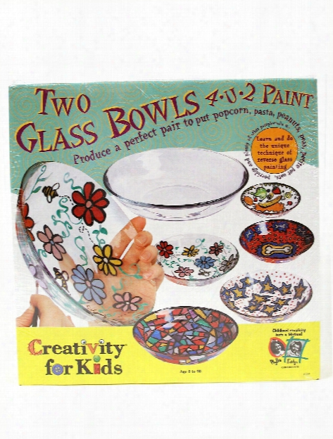 Two Glass Bowls 4 U 2 Paint Two Glass Bowls
