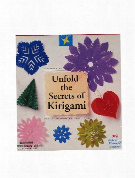 Unfold The Secrets Of Kirigami Kit Kirigami Kit