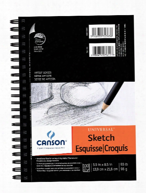 Universal Heavyweight Sketch Pads 9 In. X 12 In.100 Sheets