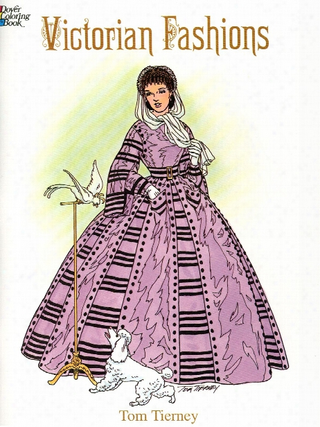 Victorian Fashio Ns Coloring Book Victorian Fashions Coloring Book