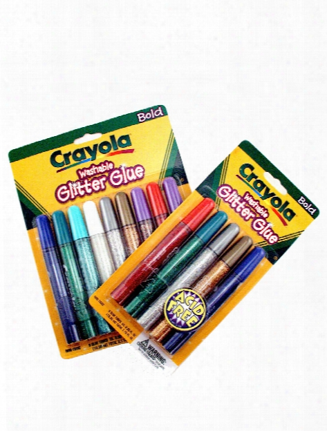 Washable Glitter Glue Bold Set Of 9
