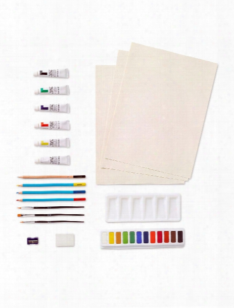 Water Colour Complete Painting Set Watercolor Set