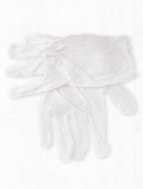 White Lintless Cotton Gloves White One Paiir