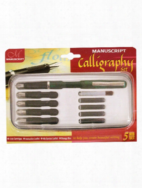 5 Nib Calligraphy Set 5 Nib Placed