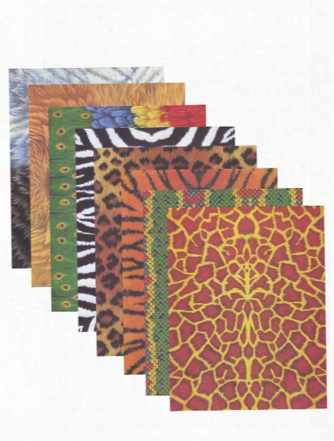 Animal Craft Papers Pack Of 40