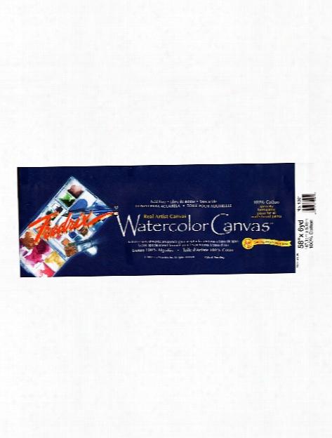 Archival Watercolor Canvas Roll 58 In. Xx 6 Yd.