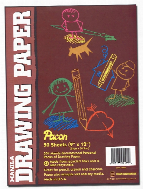 Art1st Manila Drawing Paper 12 In. X 18 In. Pack Of 50