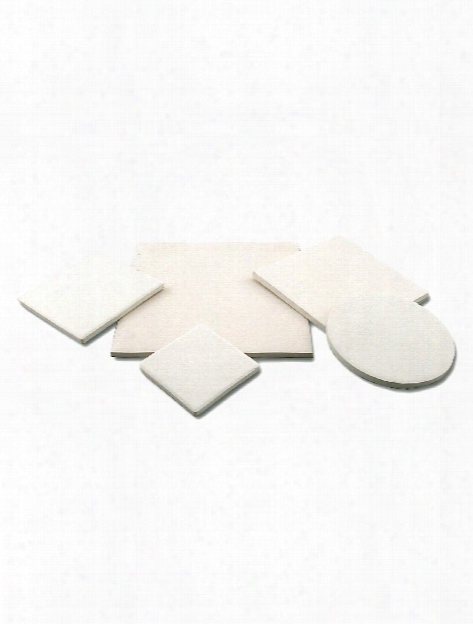 Bisque Tile Square 4 1 4 In. X 4 1 4 In.