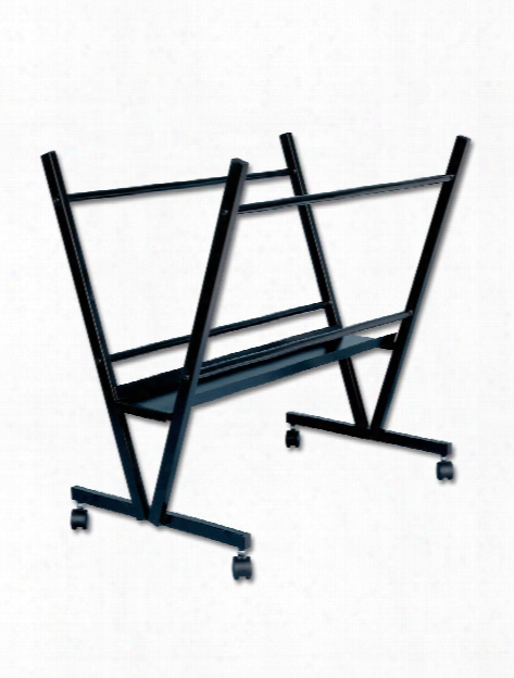 Black Steel Print Rack Print Rack