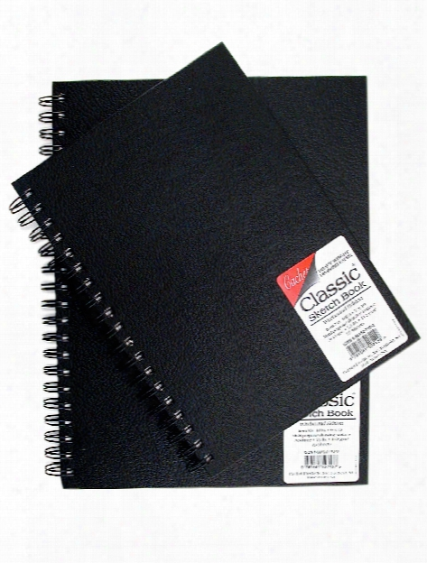 Classic Sketch Book Wirebound Edition 9 In. X 12 In.