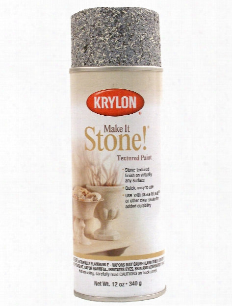 Coarse Stone Textured Spray Paint Charcoal Sand