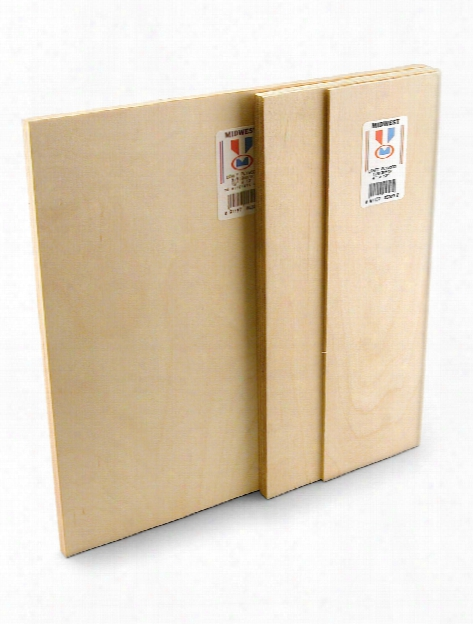 Craft Plywood Sheets 1 8 In. 6 In. X 12 In.