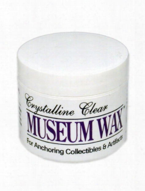Crystalline Clear Museum Wax 4 Oz.