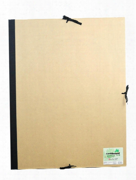 Deluxe Earthbound Portfolio With Flaps 9 In. X 12 In.