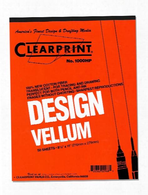 Design Vellum No. 1000h 17 In. X 22 In. Pack Of 10
