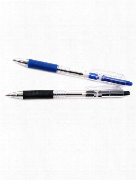 Easy Touch Retractable Ball Point Pen Black