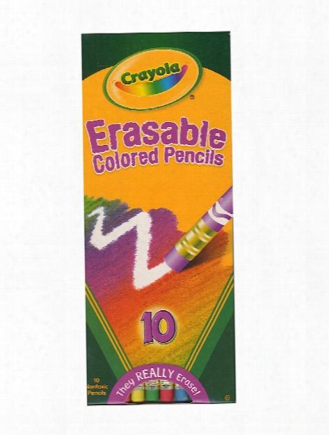 Erasable Colored Pencils Predetermined Of 24