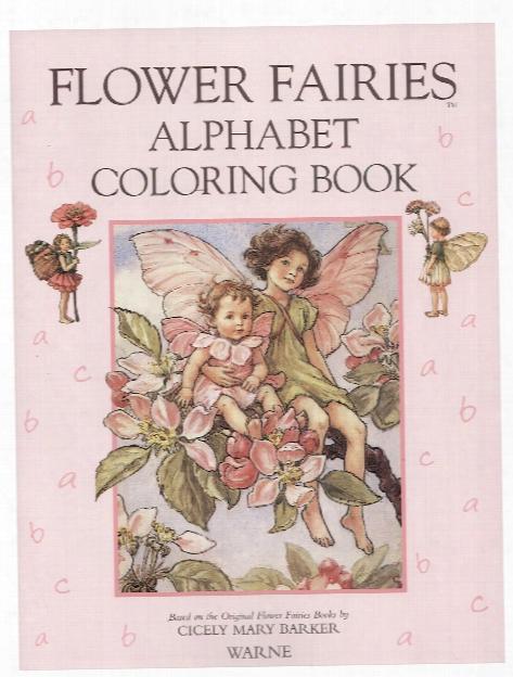 Flower Fairies Alphabet Coloring Book Each