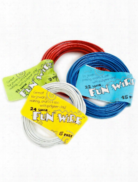 Fun Wire 22 Gauge Licorice 15 Ft.