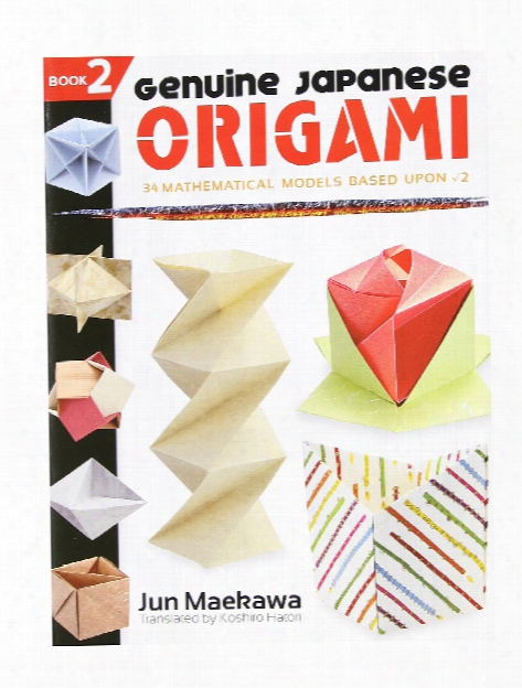 Genuine Japanese Origami Book 2 Each