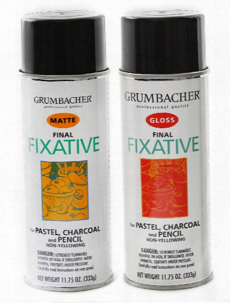 Hard Final Spray Fixative Matte 11.75 Oz.