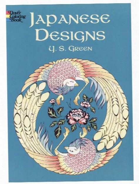 Japanese Designs Coloring Book Japanese Designs Coloring Book