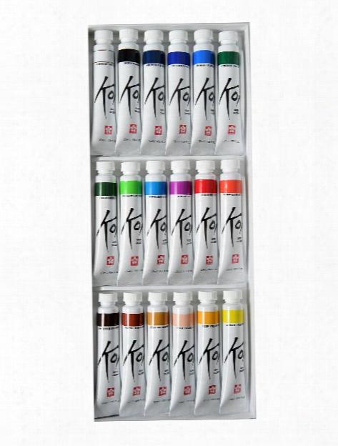 Koi Water Color Sets Set Of 18