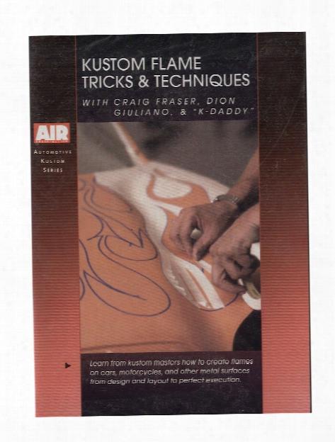 Kustom Flame Tricks & Techniques Dvd Each