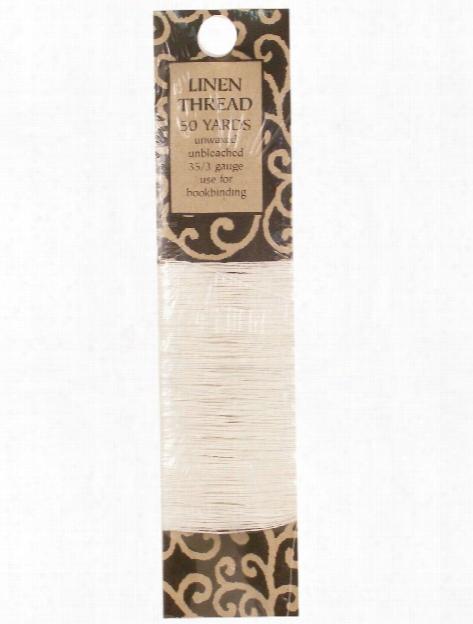 Linen Thread 35 3 50 Yd. Spool