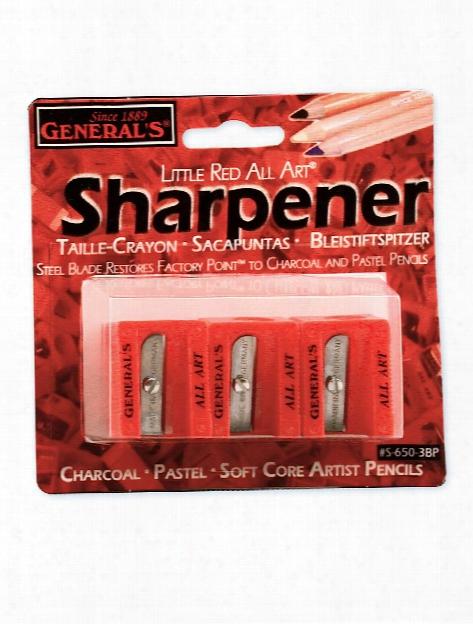 Little Red All Art Sharpener Pack Of 3