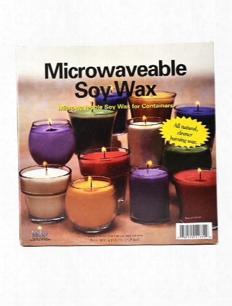 Microwaveable Soy Wax 4 Lb.