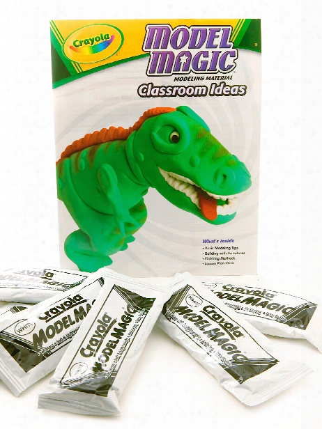 Model Magic Air Dry Modeling Clay Classpack White 1 Oz. Pack Of 75
