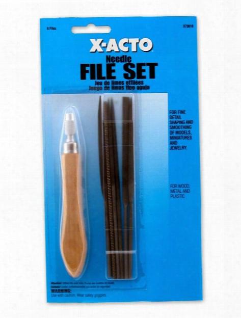 Needle File Set Set Of 6
