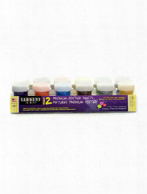 Poster Paint Sets Set Of 6