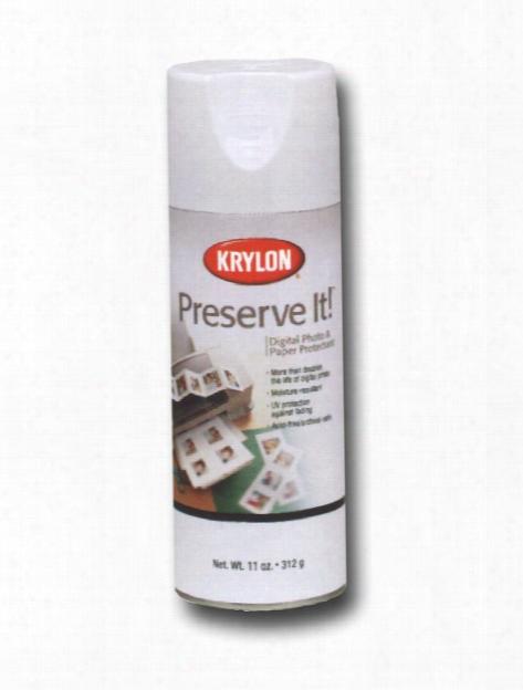 Preserve It Paper Protectant 11 Oz. Clear Matte