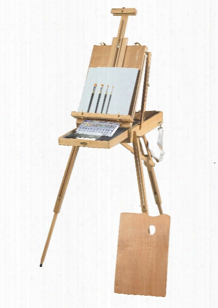 Rivera Sketch Box Easel And Painting Kits Acrylic Kit