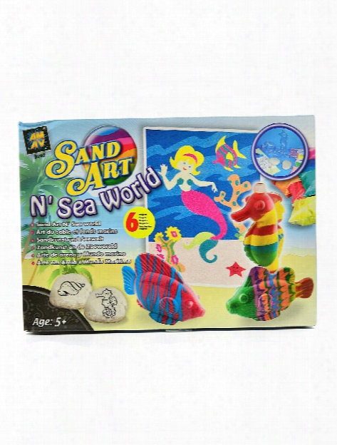 Sand Art N' Sea World Kit Each