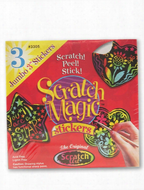 Scratch Magic Stickers Mini -pak Mini Pack