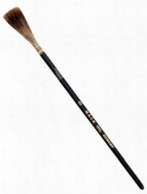 Series 189l Grey Quill Brush 6