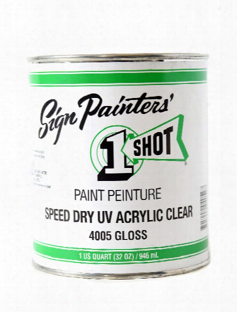 Speed Dry Uv Acrylic Clear 32 Oz.