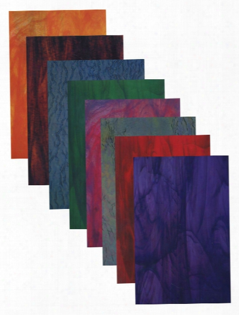 Stained Glass Craft Paper Pack Of 24
