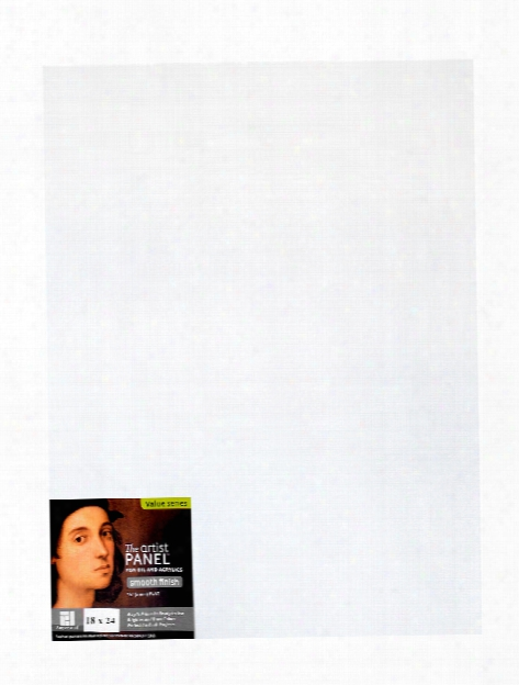 The Artist Panel Primed Smooth Flat Profile 10 In. X 10 In. 1 8 In.
