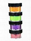 Ultrafine Pearlescent Glitter kiwi 1 2 oz. jar