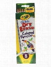 Washable Dry Erase Colored Pencils pack of 8