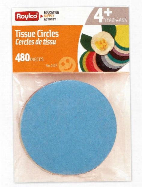 Tissue Circles 480 Circles