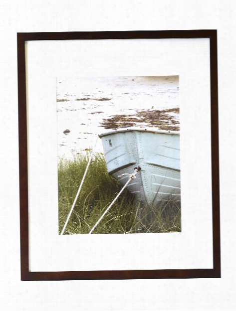 Tribeca Wood Frame Collection Matte White 8 In. X 10 In. 5 In. X 7 In. Opening